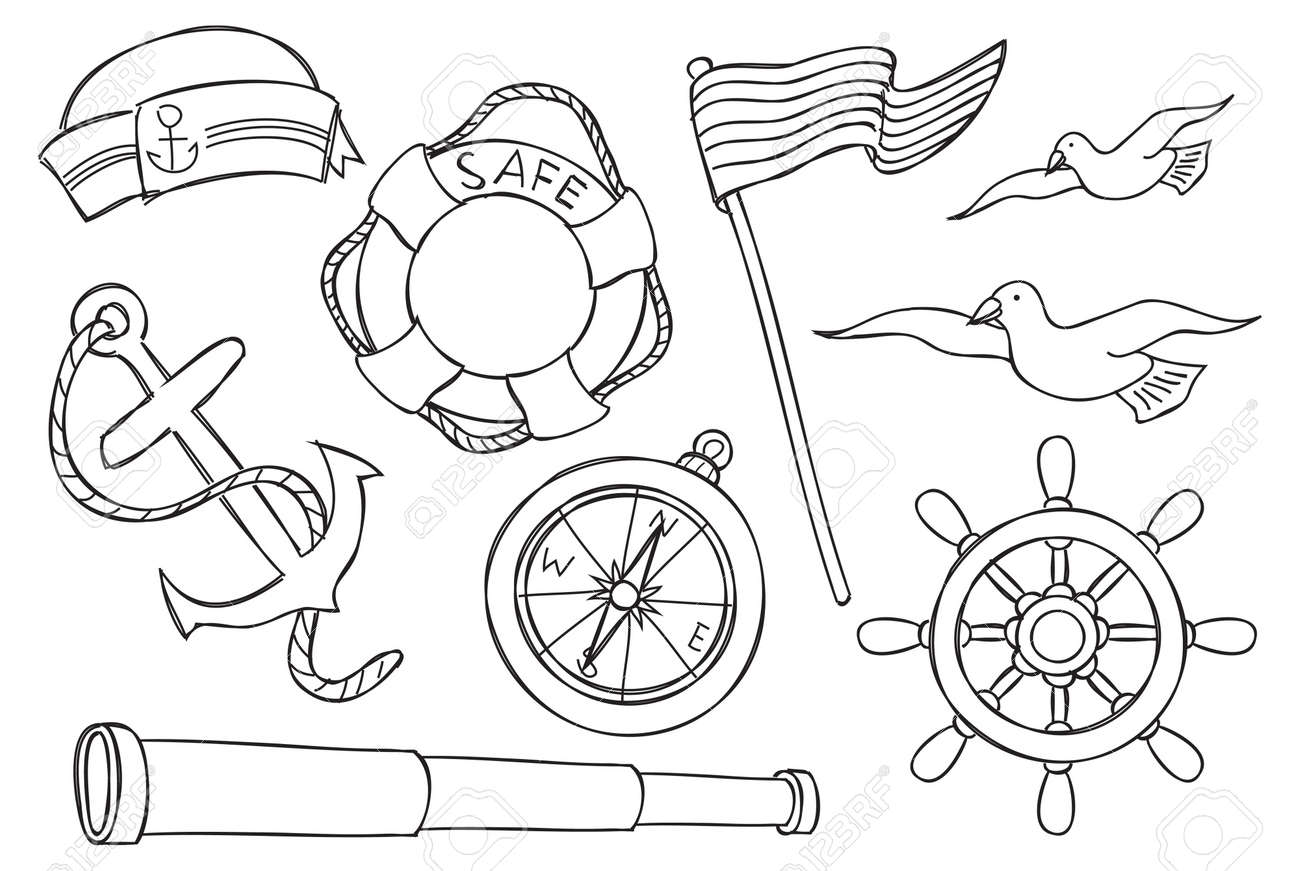 nautical object Stock Vector - 16226454