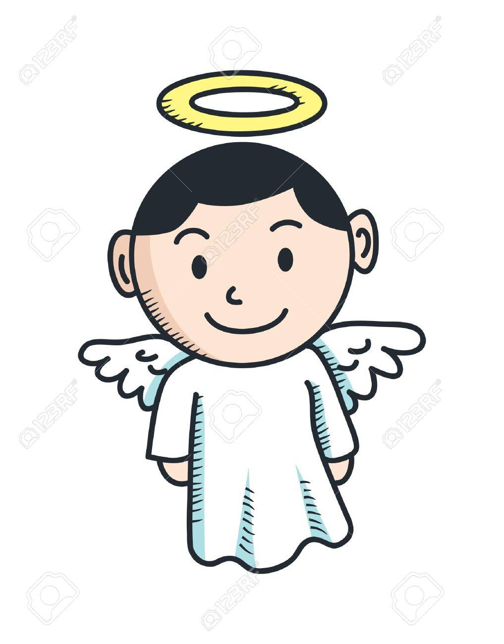 Cute Angel Cartoon Royalty Free Cliparts Vectors And Stock Illustration Image 16591603