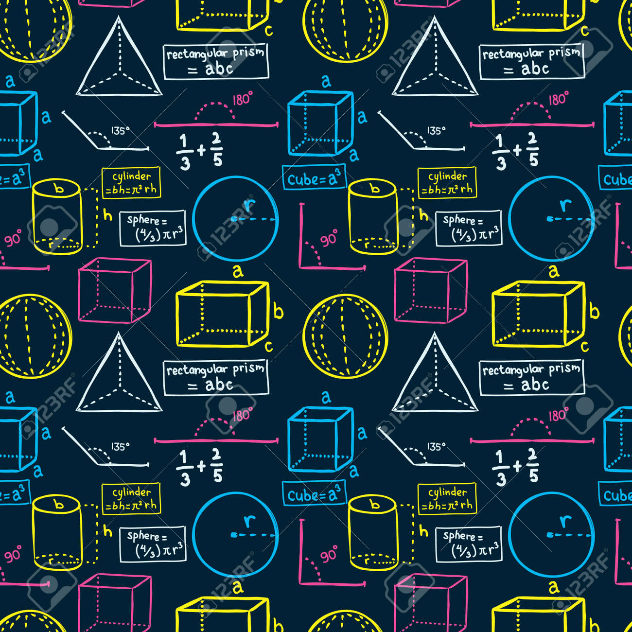 Mathematics Background Royalty Free Cliparts Vectors And Stock