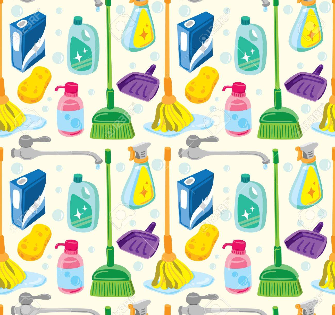 6,697 House Cleaning Cliparts, Stock Vector And Royalty Free House ...