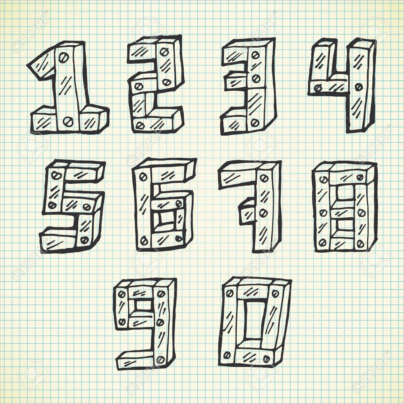 フォント かわいい 数字