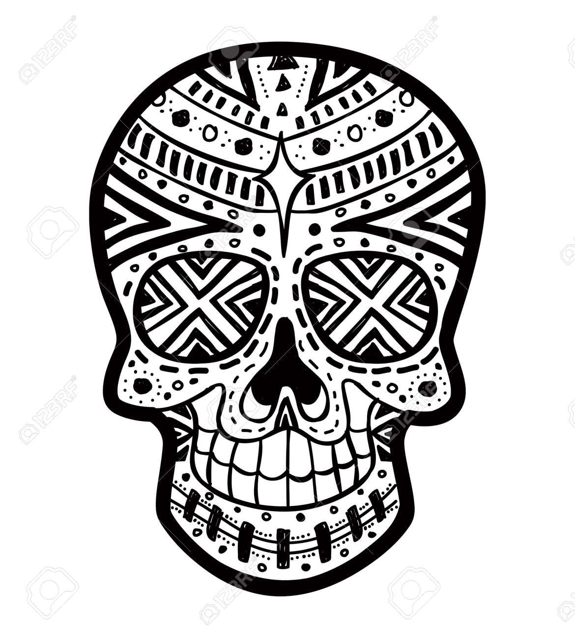 Black And White Sugar Skull Designs Simple Sugar Skull Black And White Sugar Skull Black And