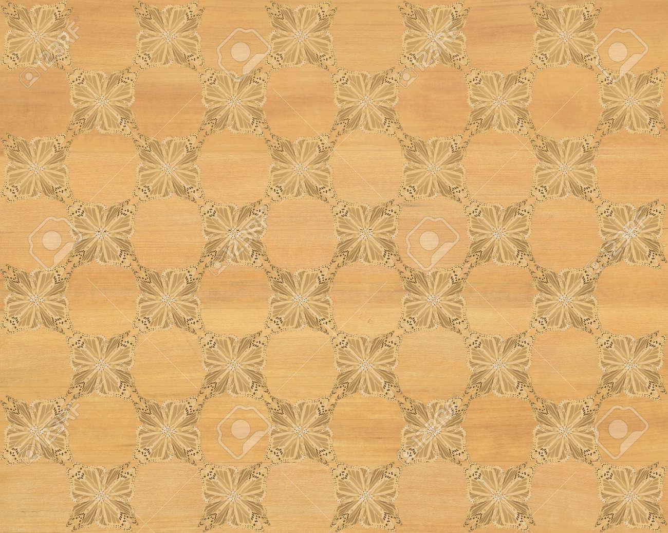 Immagini stock piastrelle di legno di pino con colorazione più