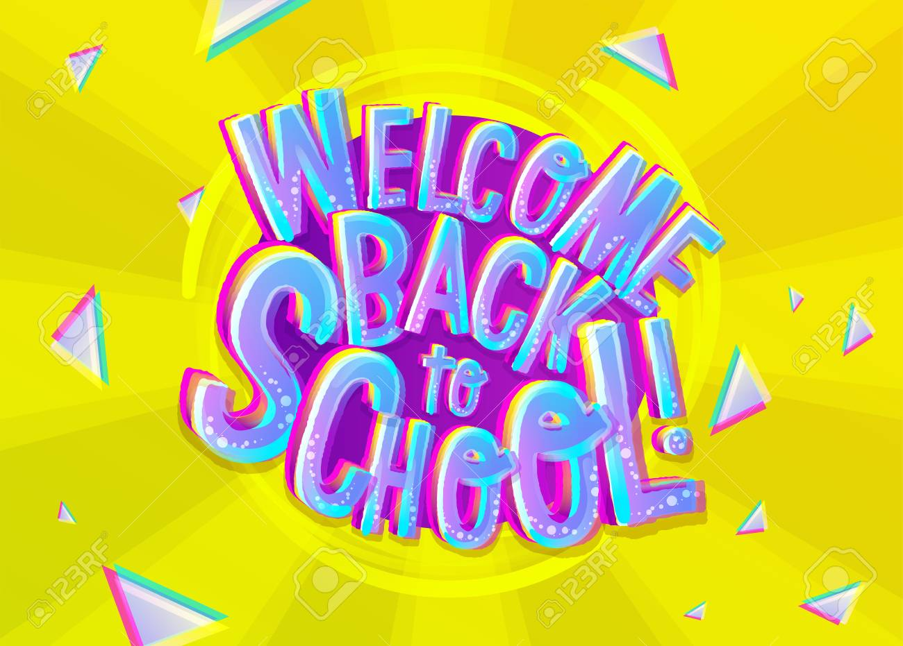 Welcome Back Banner Template Demirediffusion