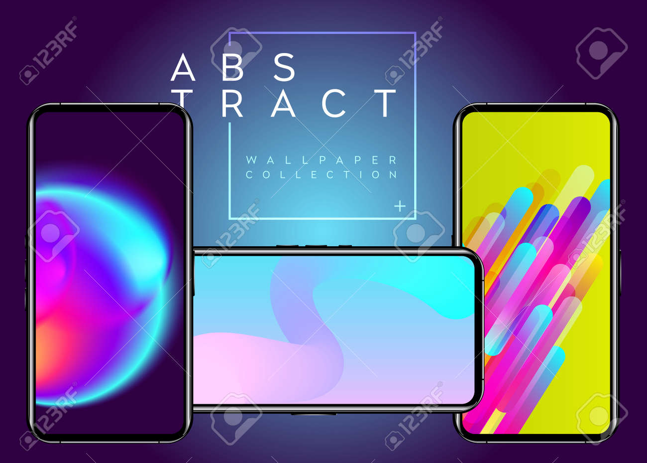 Phone Abstract Futuristic Wallpaper Collection Creative Colorful
