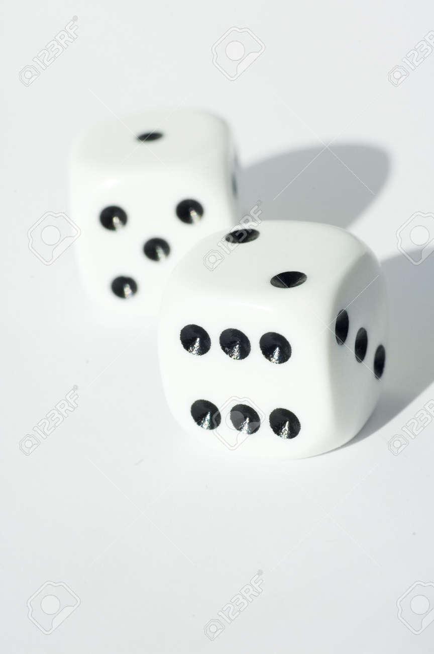 Isolated dice Stock Photo - 490964