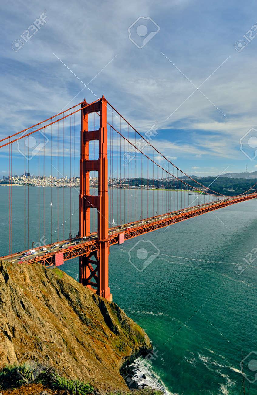 Golden Gate Bridge, San Francisco, California, USA - 131794036