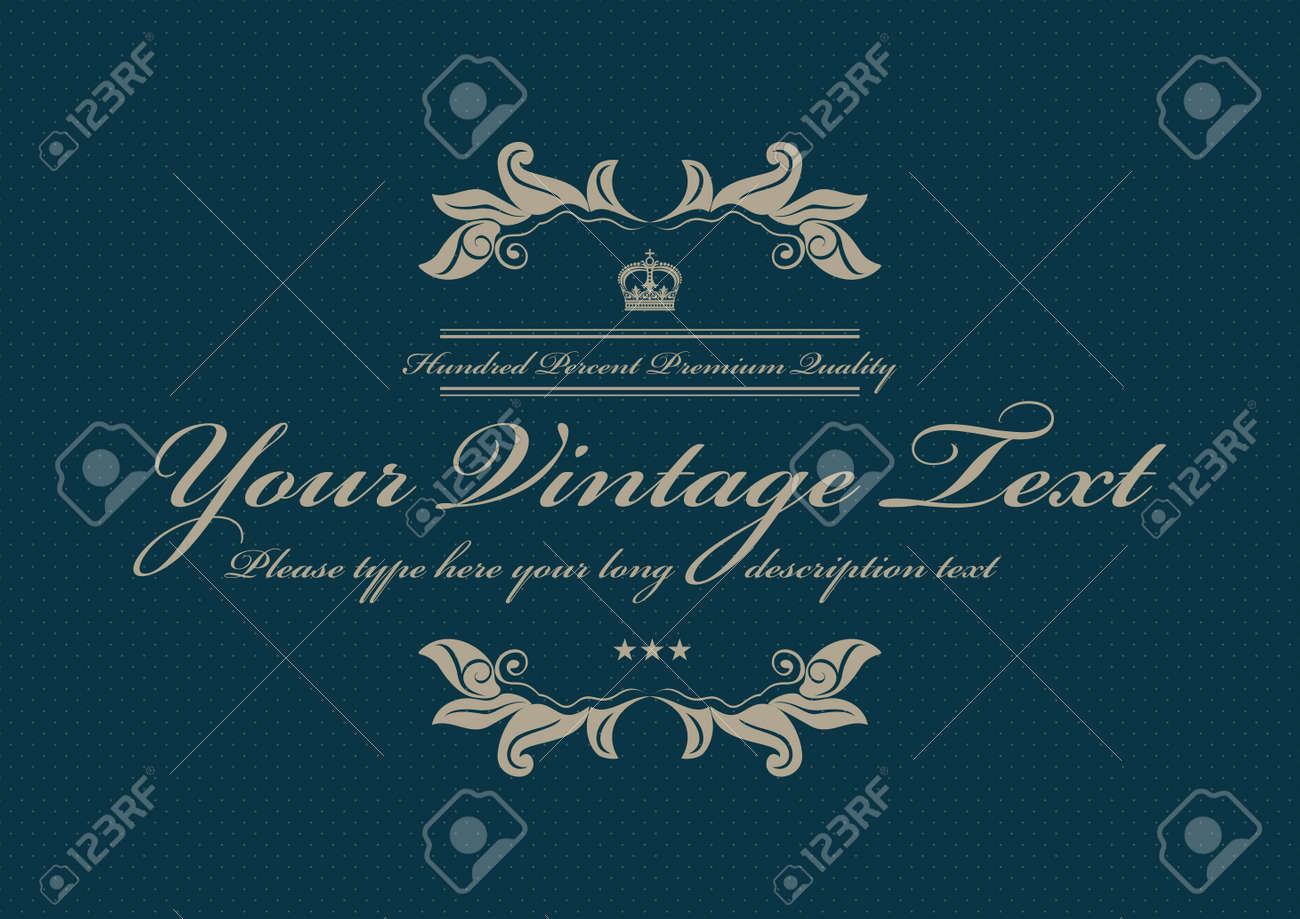 blue doted vintage background Stock Vector - 15164129