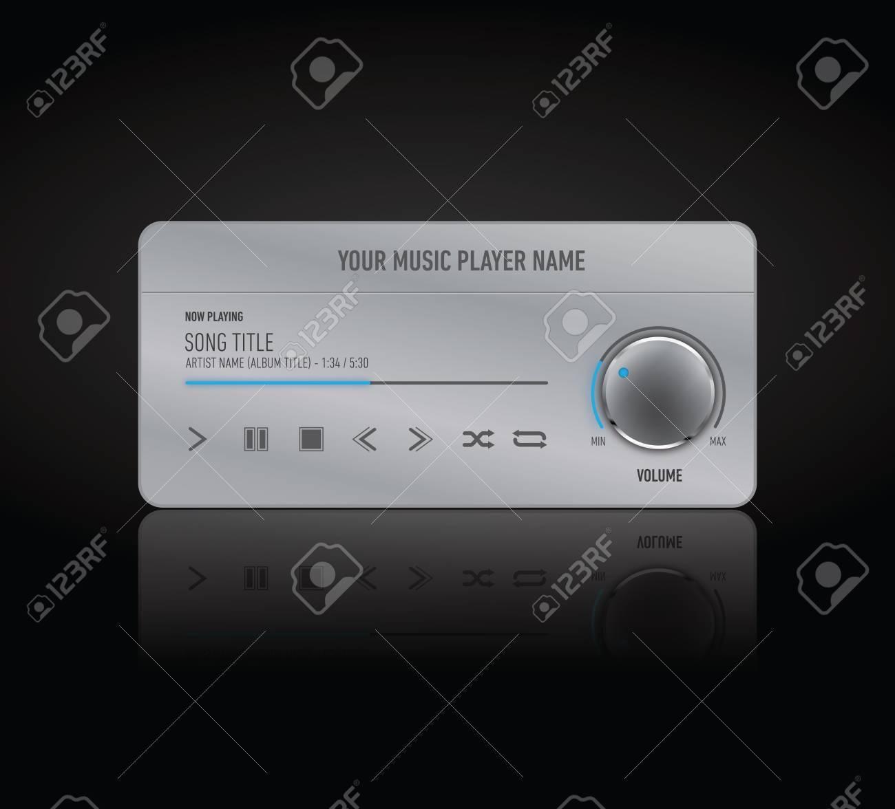 Music player skin
