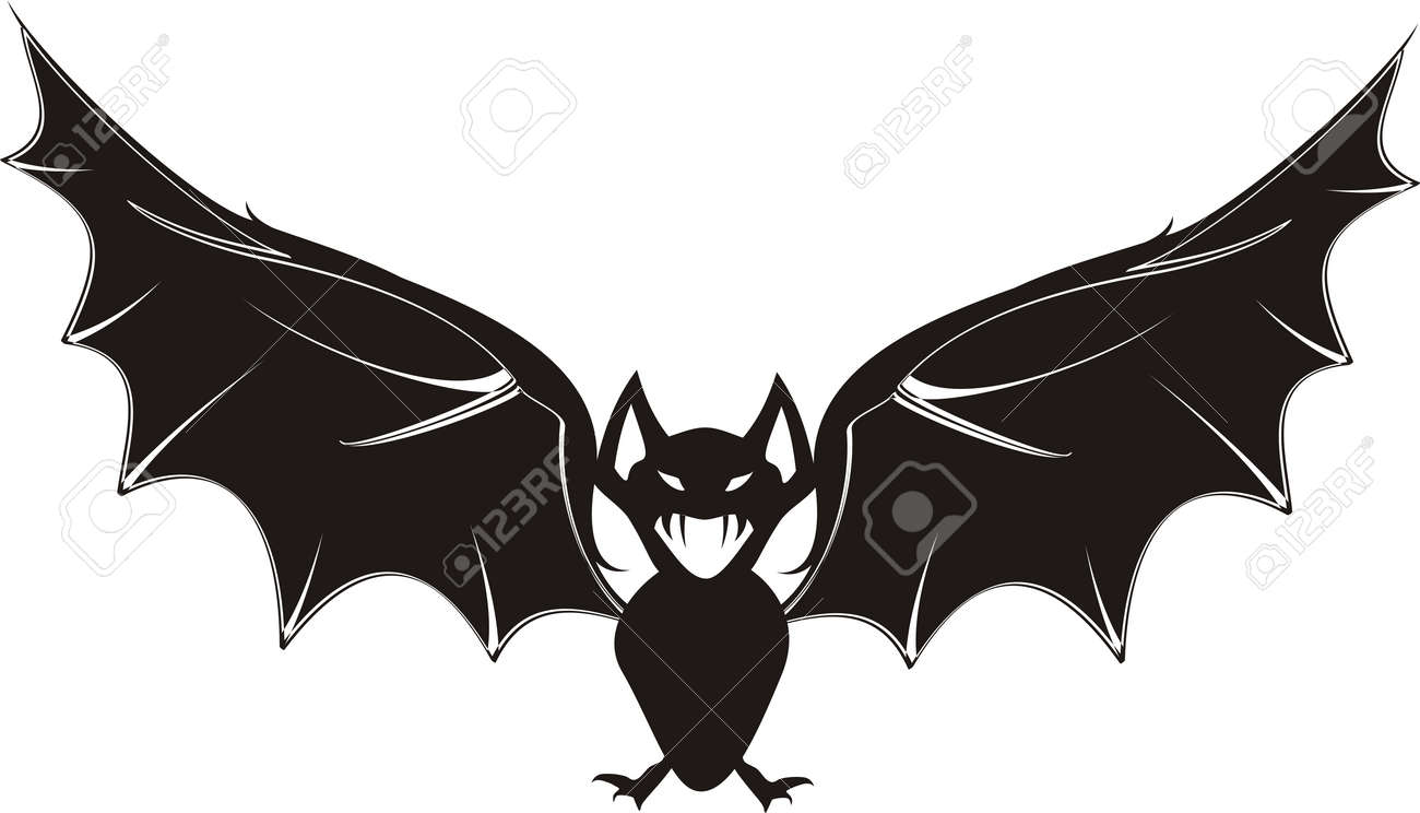 cartoon bat in vector format Stock Vector - 5964207