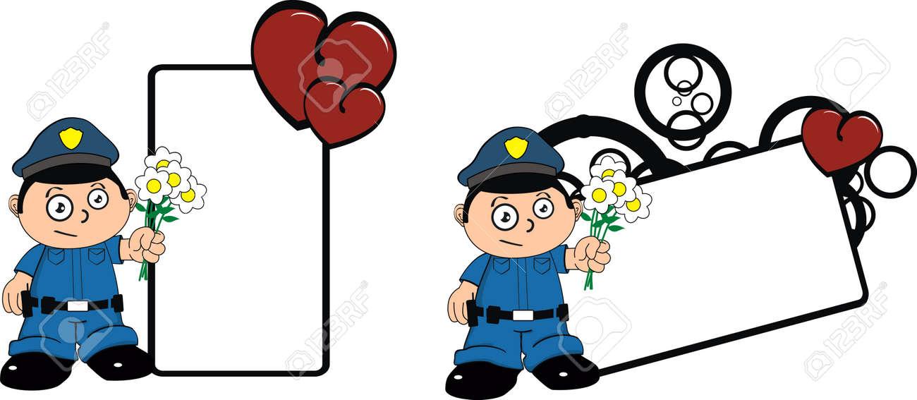 police kid cartoon copy space royalty free cliparts vectors and rh 123rf com
