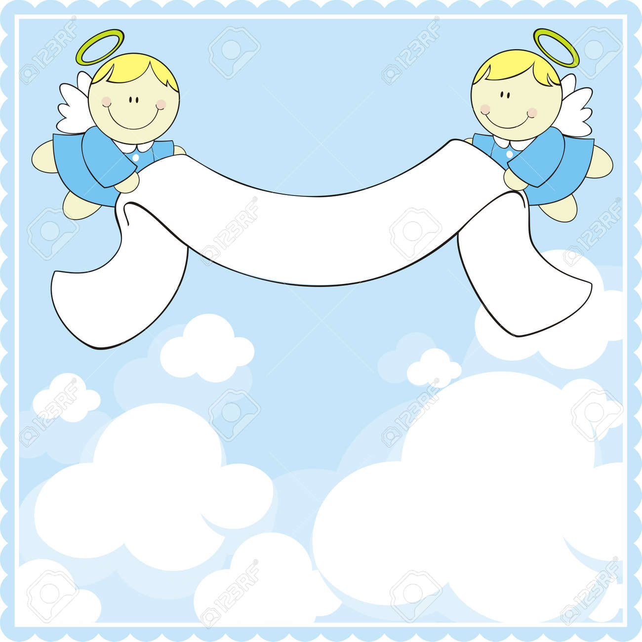 Images of Baby Boy Angels Vector Cute Baby Angels With