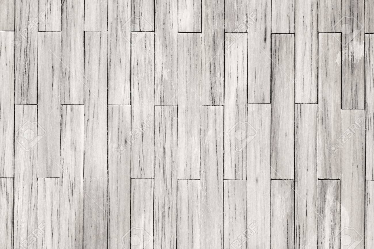 White Wood Tile Planks Texture Background