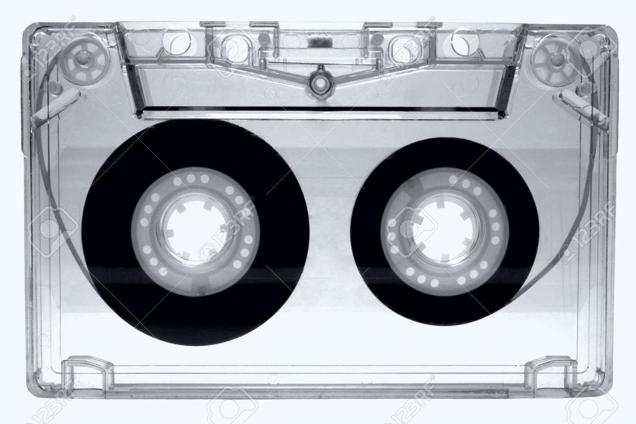 Audio cassette isolated on white background Stock Photo - 13985913