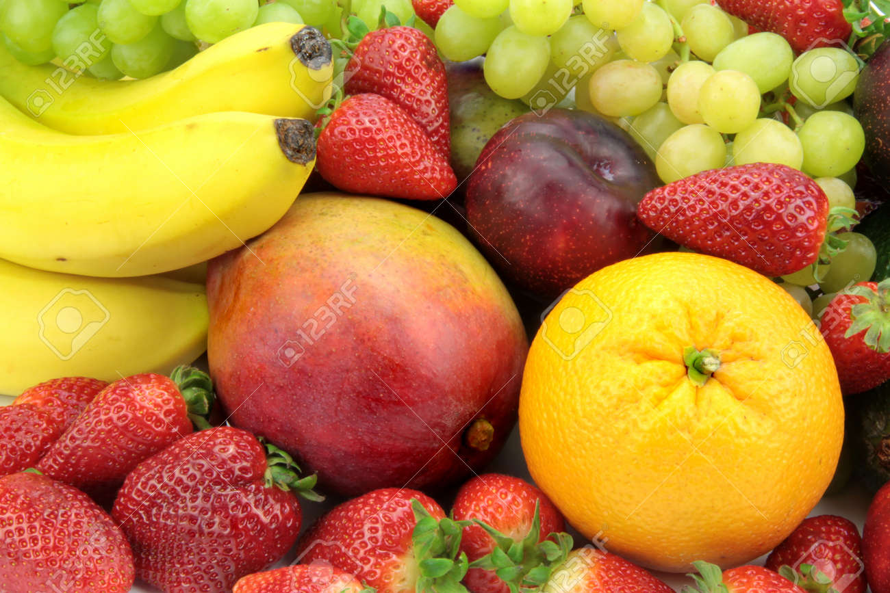 Colorful Fruit Mix