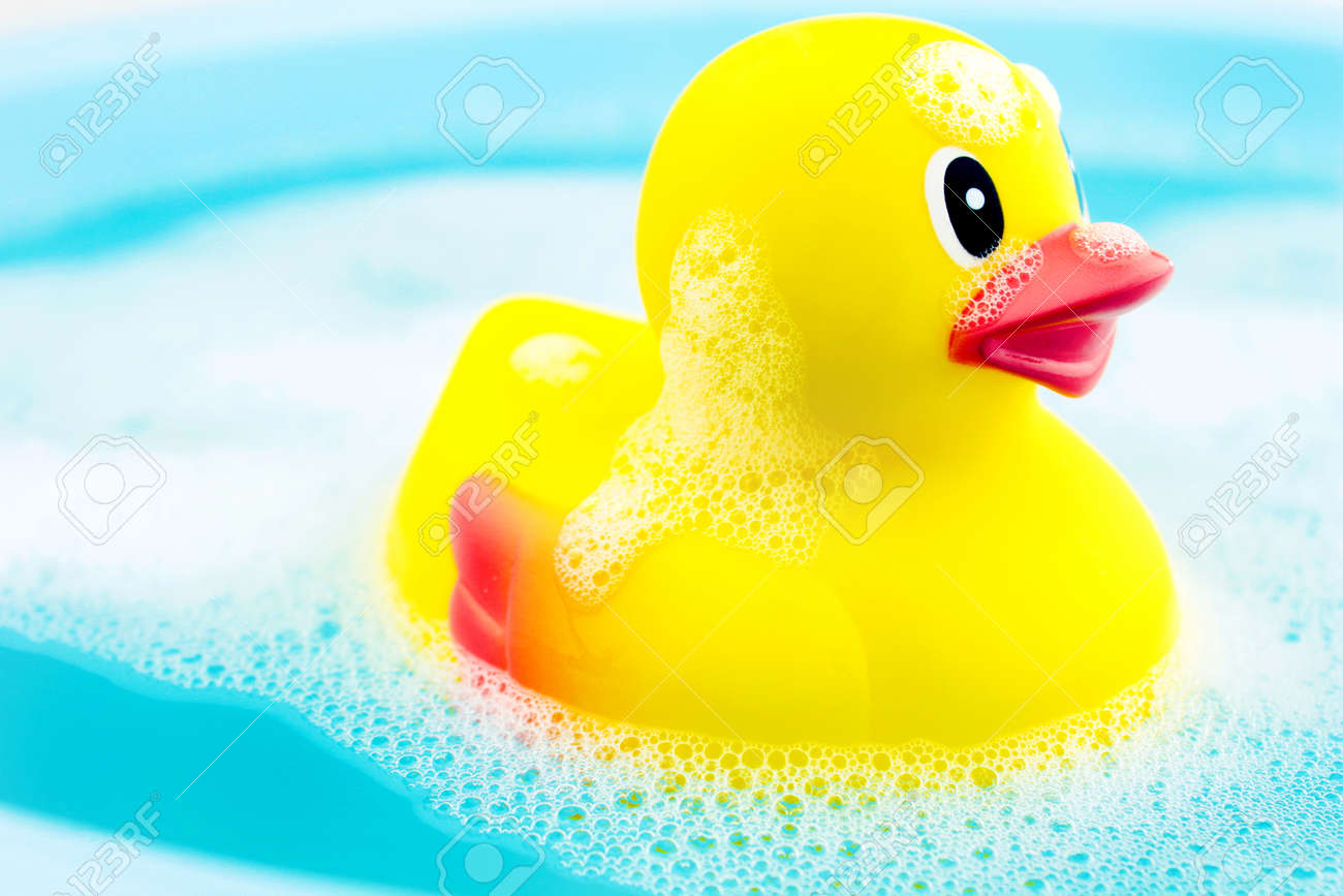 Bath time and rubber duck - 23312990