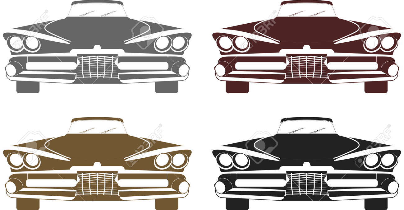 Muscle Car Silhouette Royalty Free Cliparts Vectors And Stock
