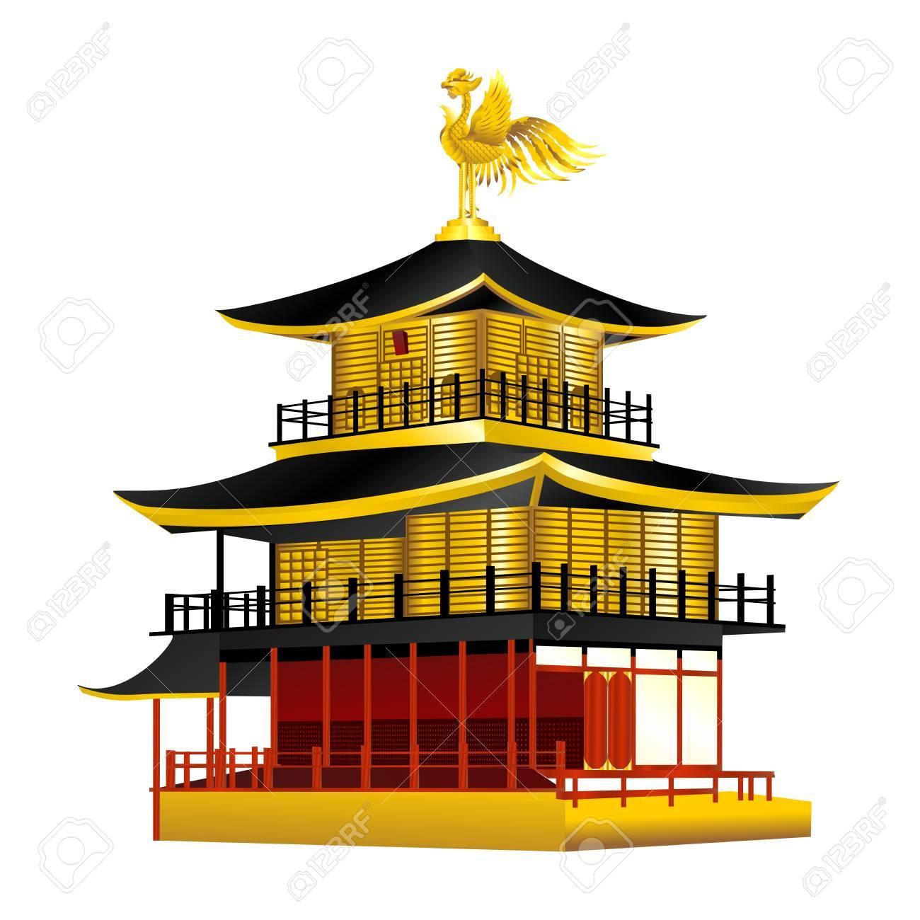 イラスト 金閣寺