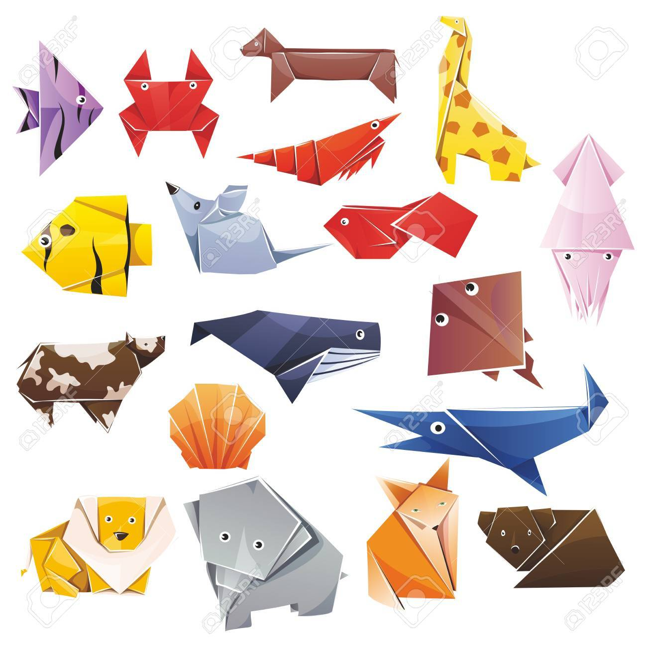 All Animal Origami Articles