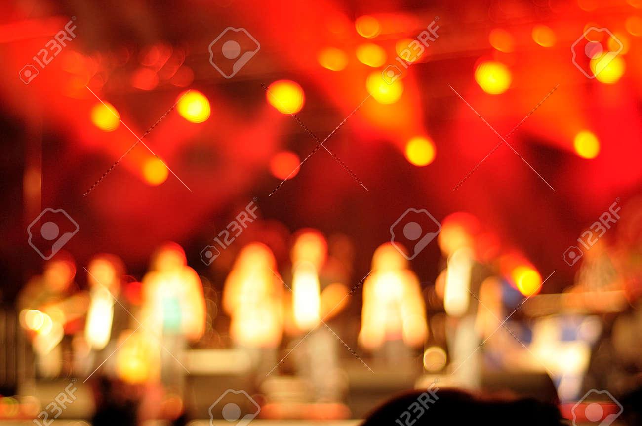 Pics photos rock concert background - Outdoor Rock Concert Light Background Illumination Stock Photo 27499843