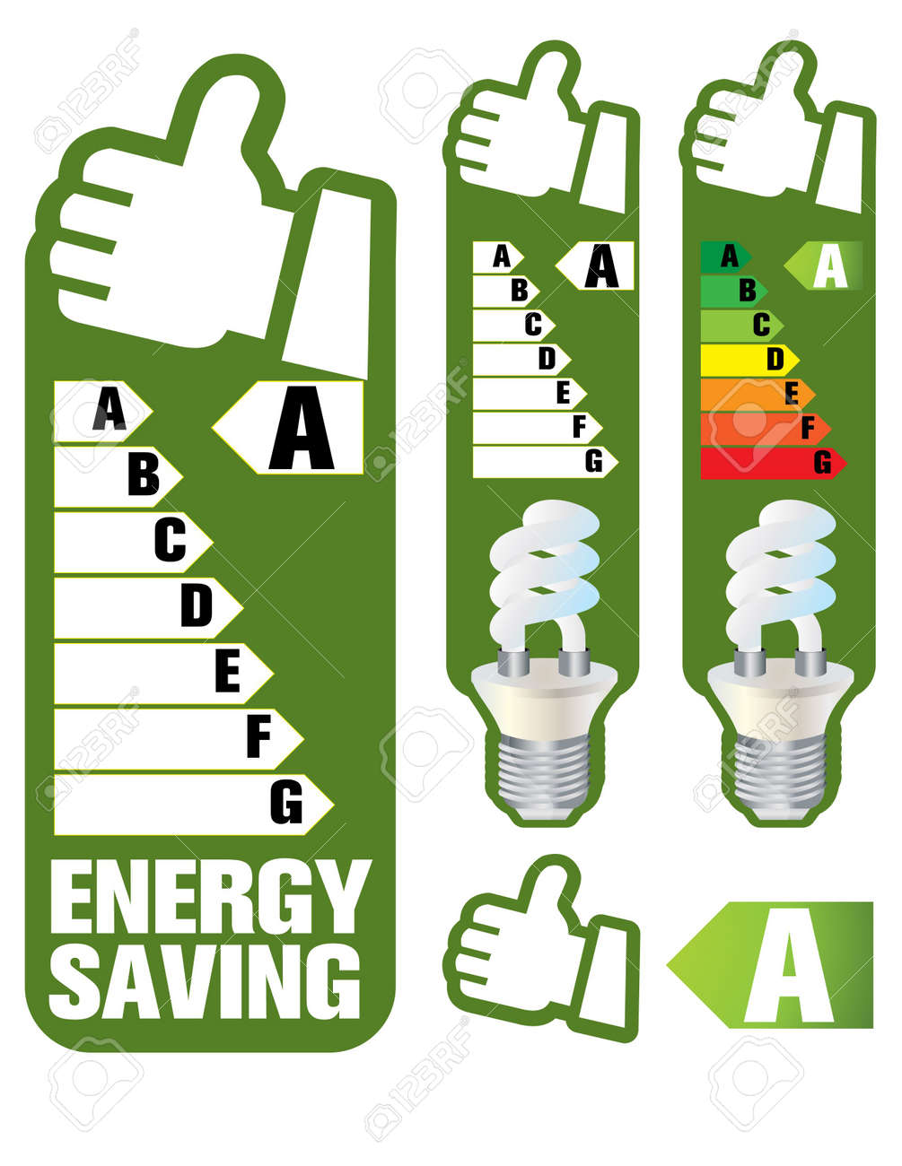 energy saving Stock Vector - 6635671