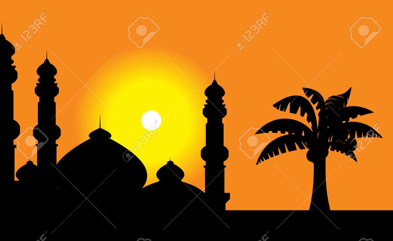 mosque Stock Vector - 6974456