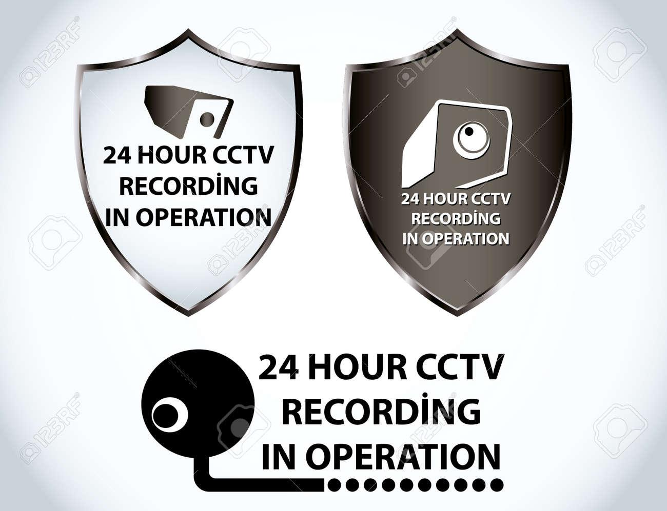 security camera Stock Vector - 8431760