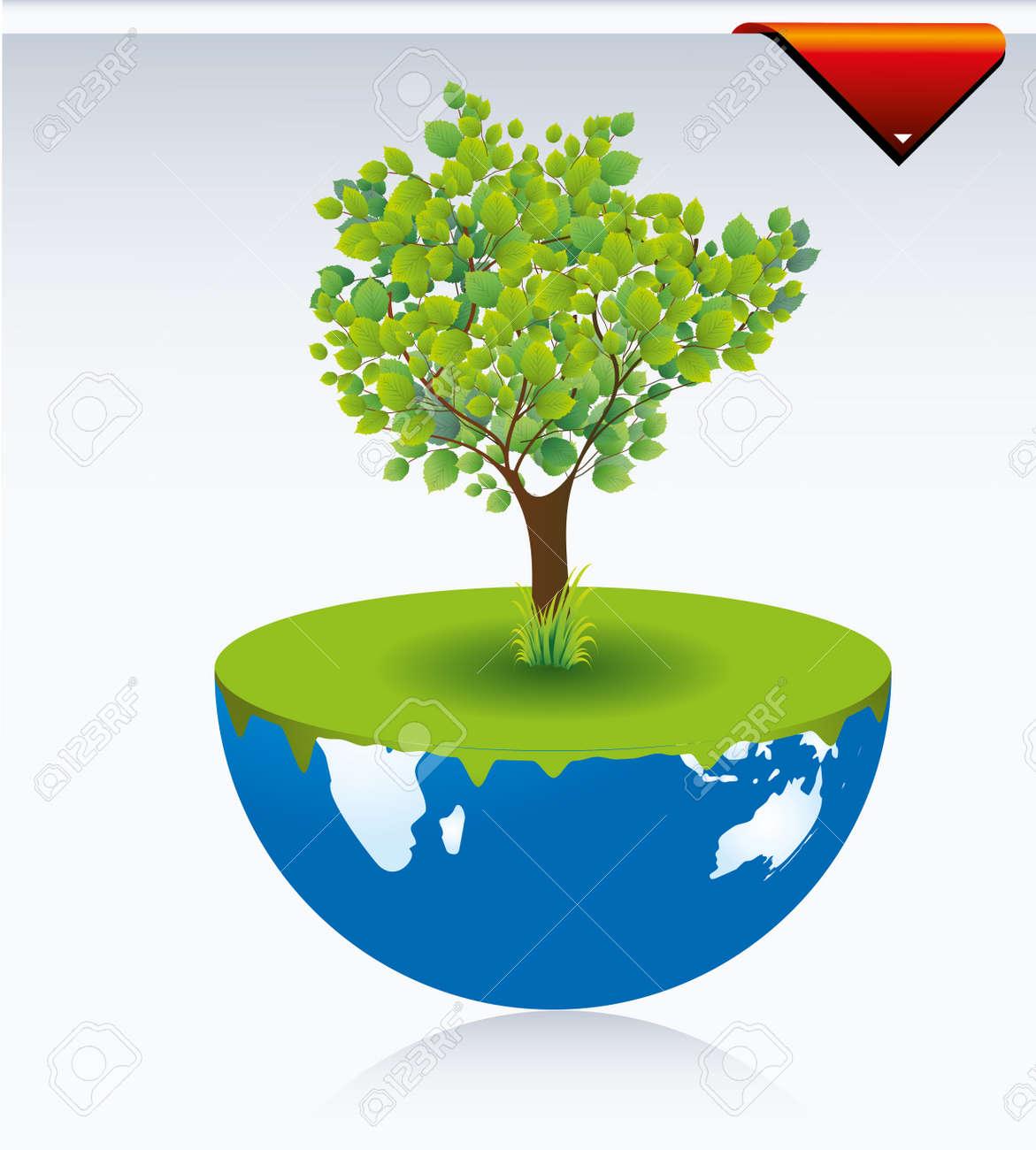 tree Stock Vector - 8431775