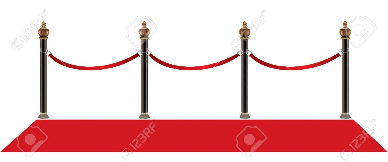 red carpet Stock Vector - 8553908