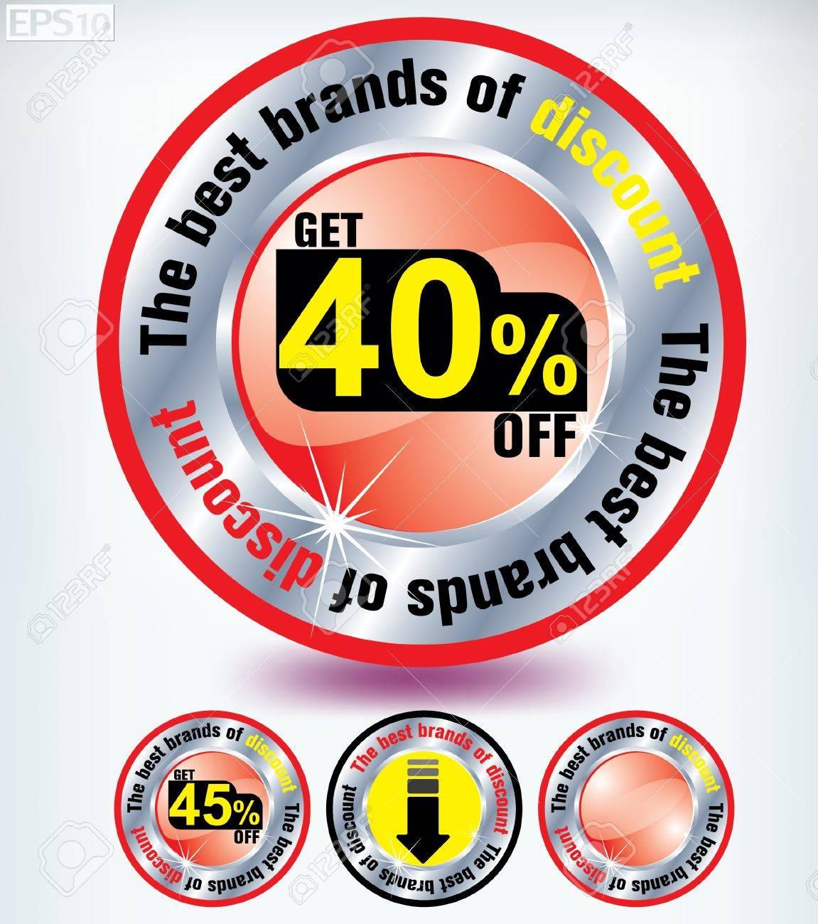 discount Stock Vector - 8787358