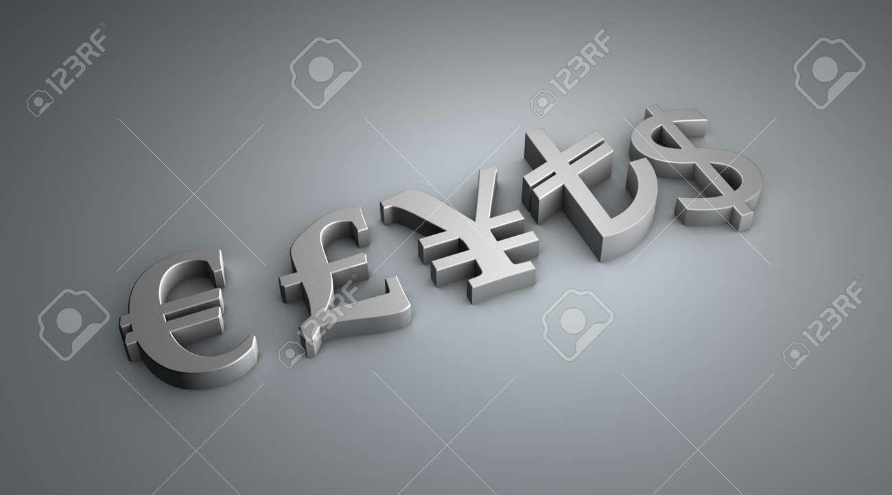 symbols of money Stock Photo - 12774519