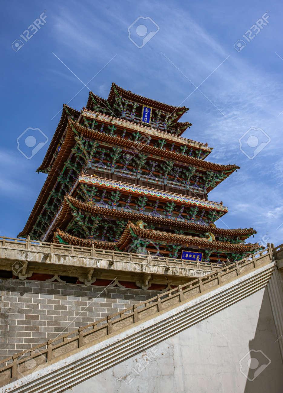 中国山西省運城市、龍池市、guan...