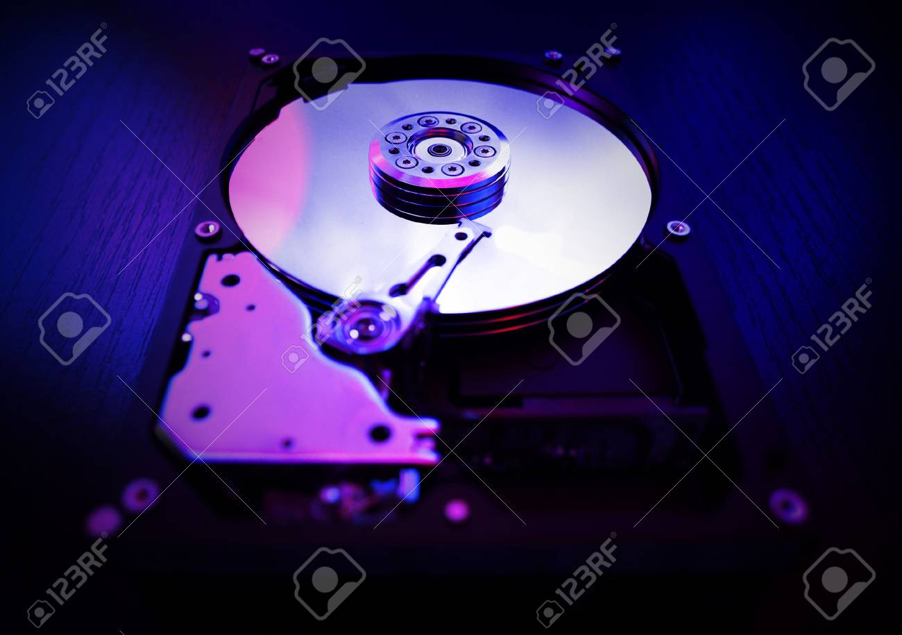 Detail of HDD Stock Photo - 3958581