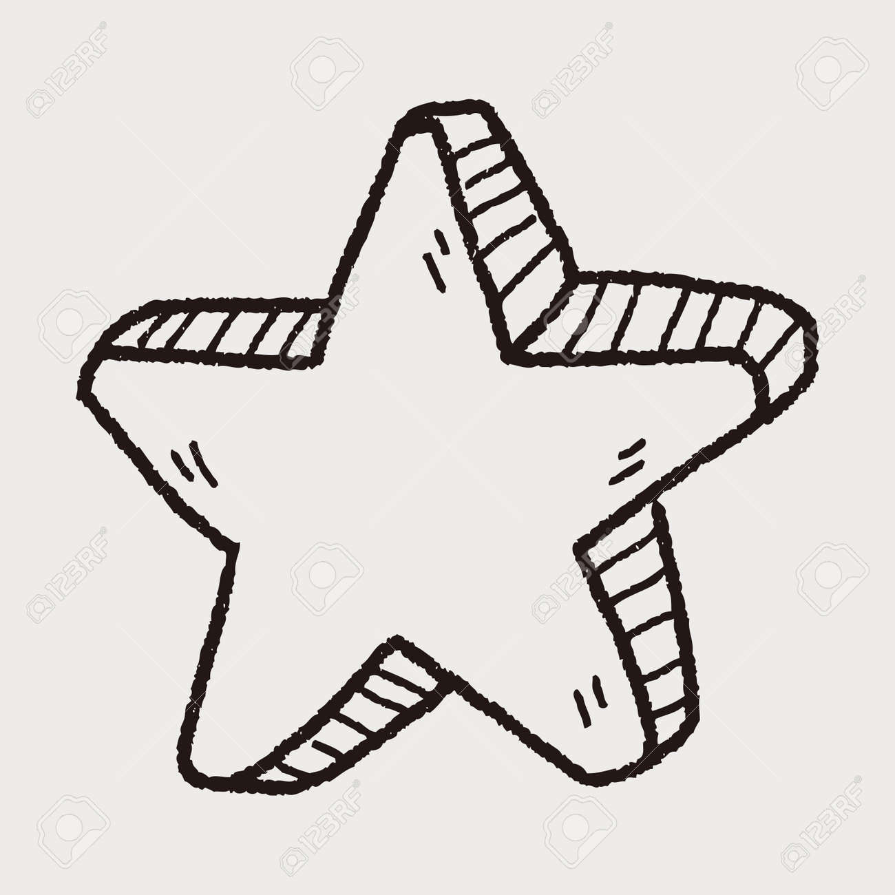 Star Doodle Royalty Free Cliparts Vectors And Stock Illustration Image 40812314 Check out our star doodles selection for the very best in unique or custom, handmade pieces from our papercraft shops. star doodle