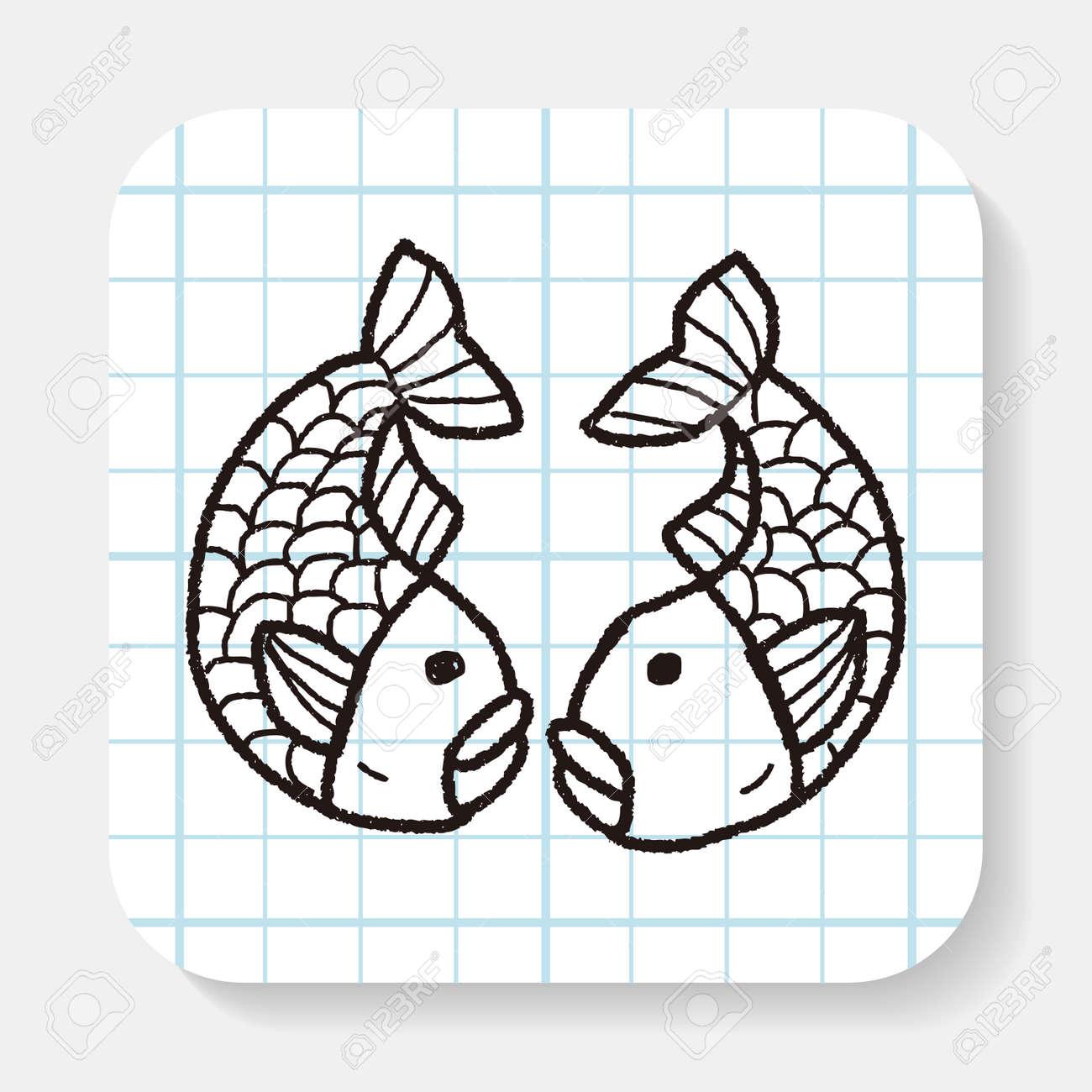 Chinesisches Neujahr; Chinesischer Glücklicher Fisch Bedeutet \