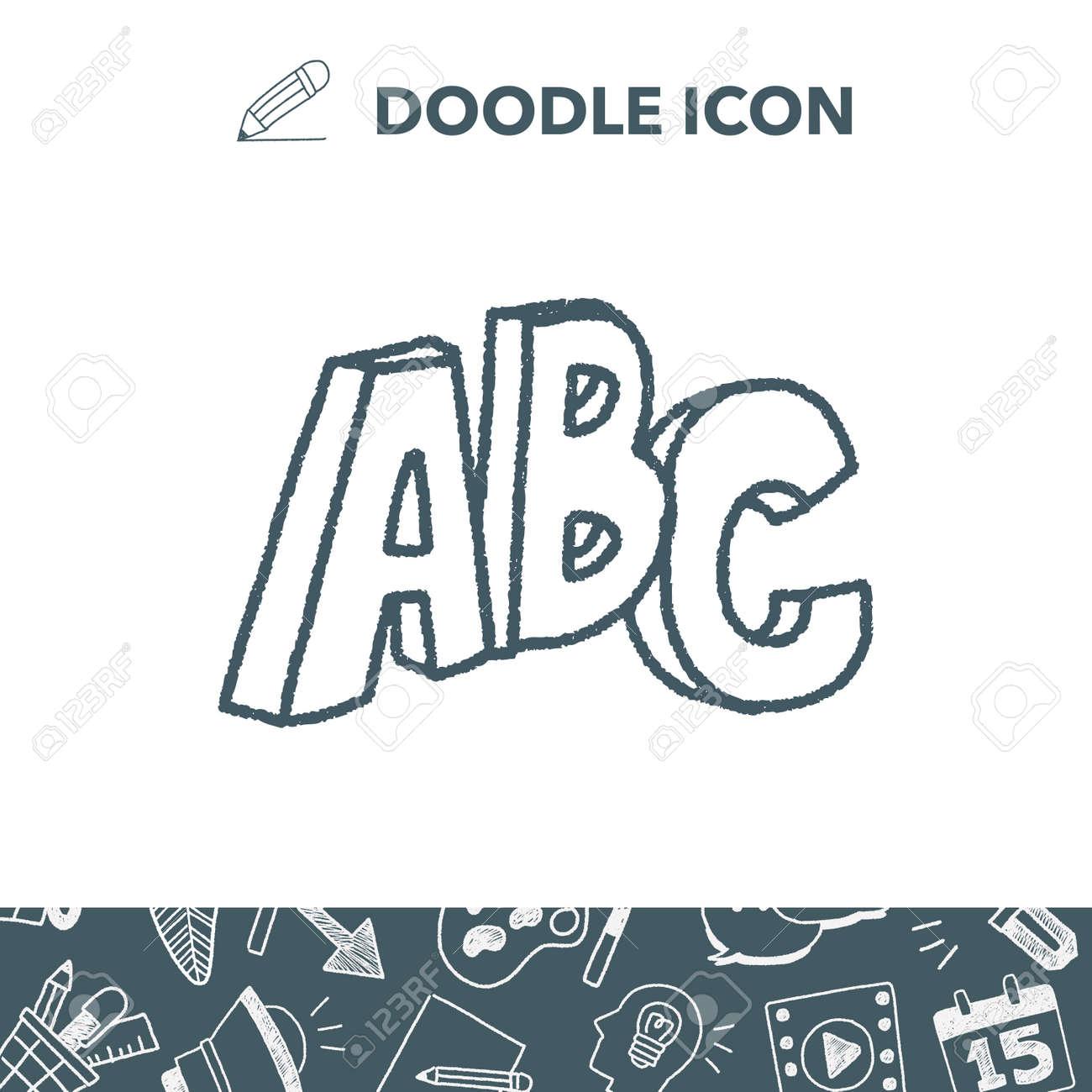 Doodle Word Stock Vector