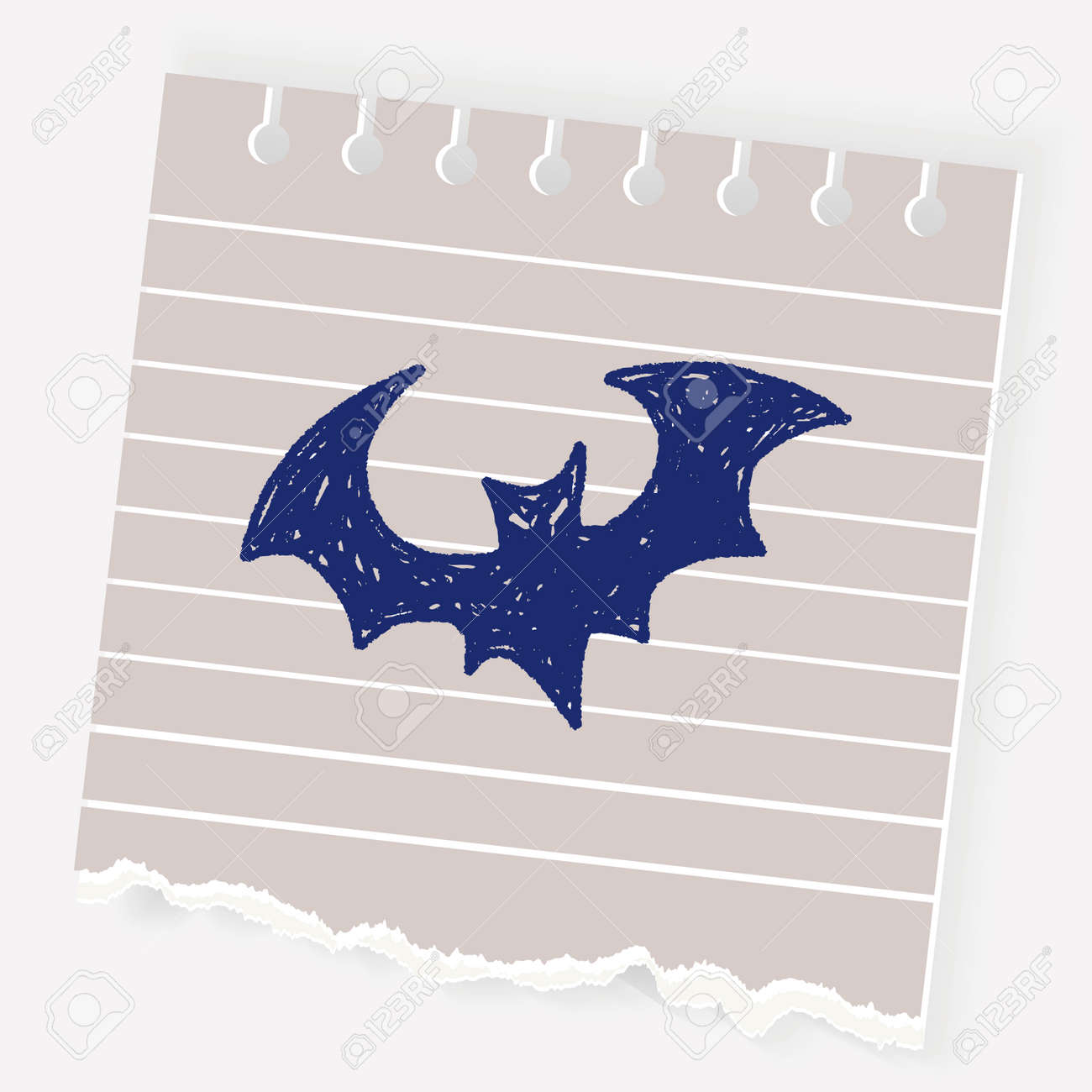 Bat Doodle Royalty Free Cliparts Vectors And Stock Illustration