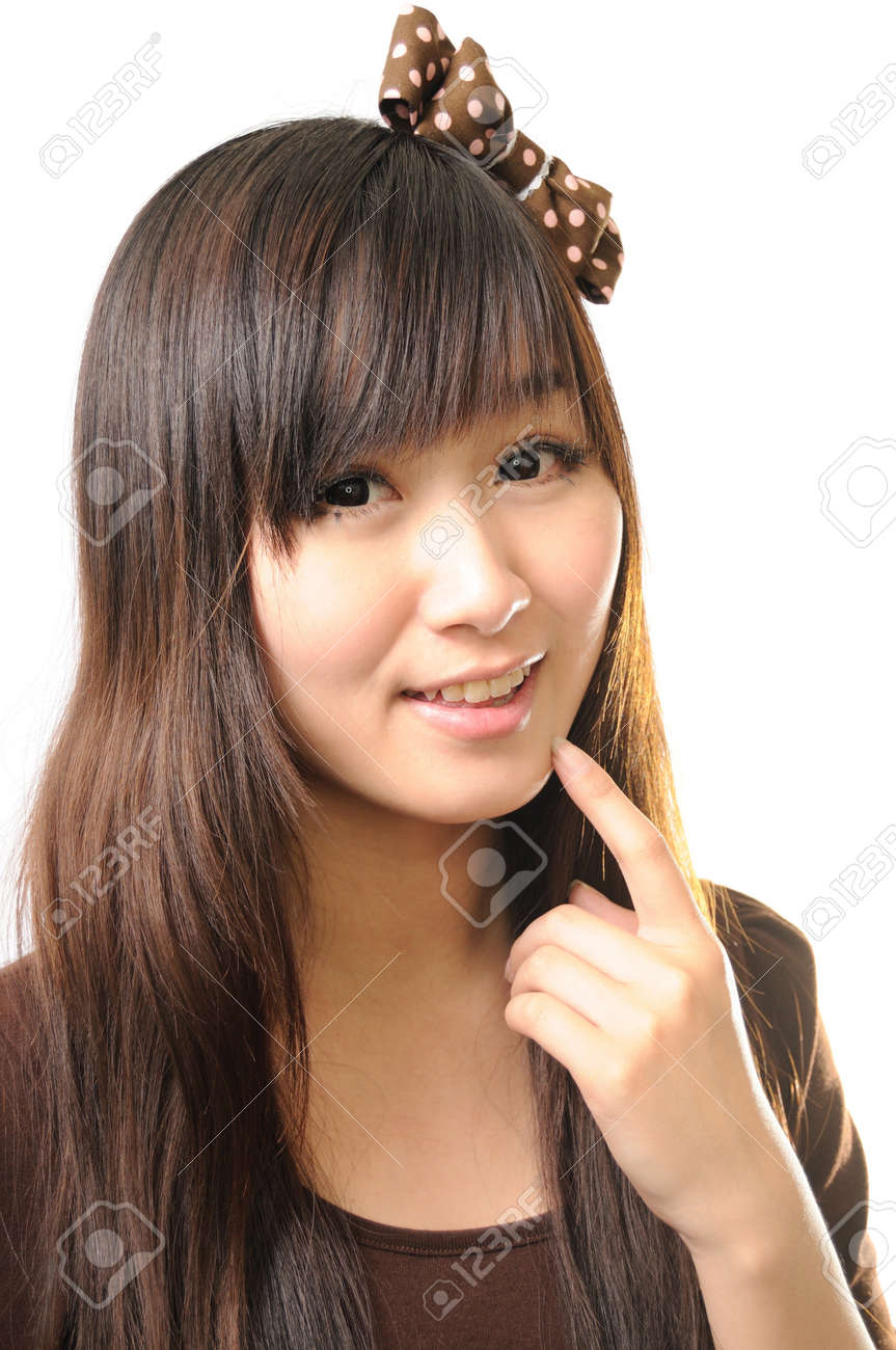 young beautiful woman with creativity hairstyle Stock Photo - 13799450
