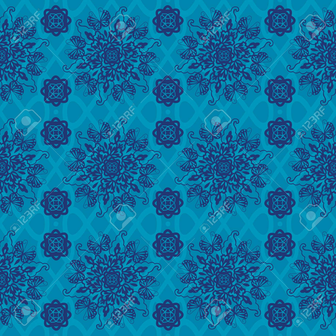 Chinese Pattern Background Stock Vector - 14257750