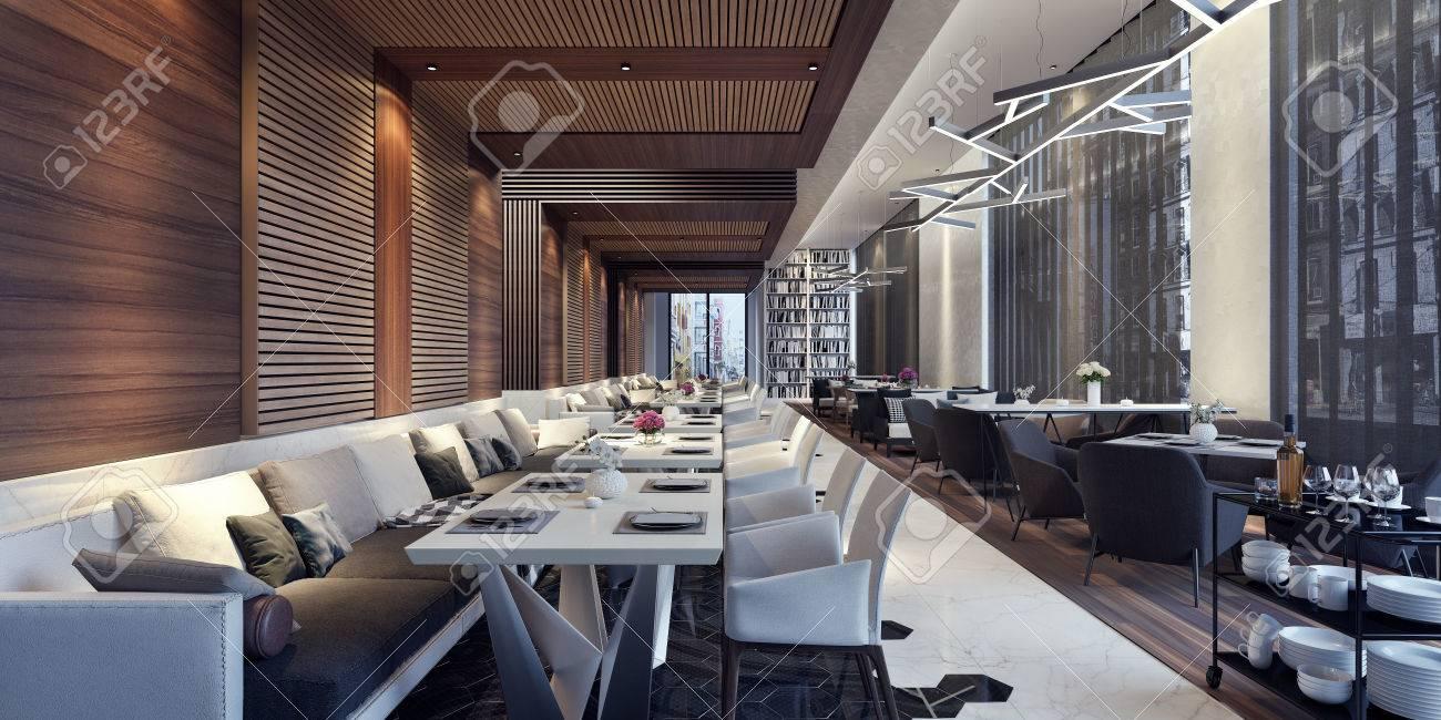 modern concept design of restaurant lounge 3d render stock photo rh 123rf com modern restaurant concepts limited modern chinese restaurant concept