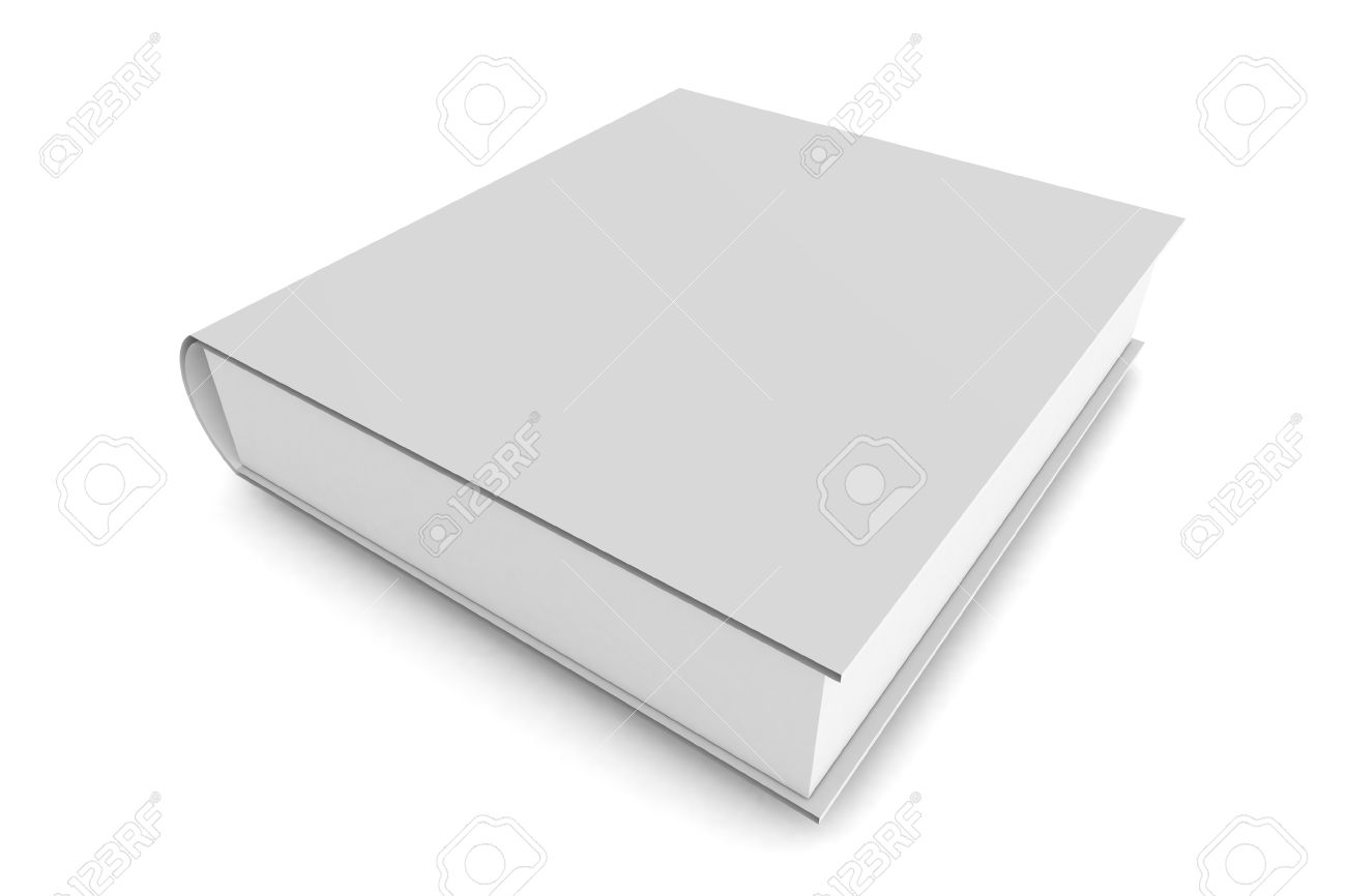 A 3d Rendered Illlustration of a Plain Book Stock Photo - 9420330