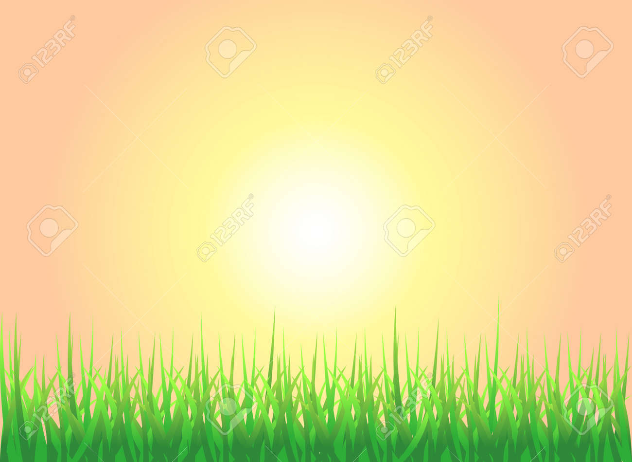 Tropical sunset background Clipart   k7256141   Fotosearch