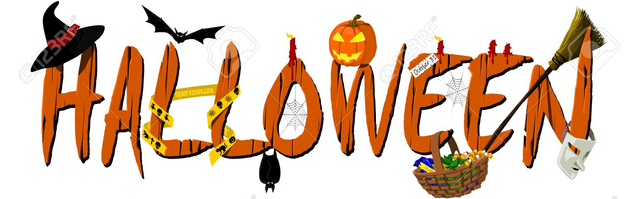 Image result for halloween banner clipart
