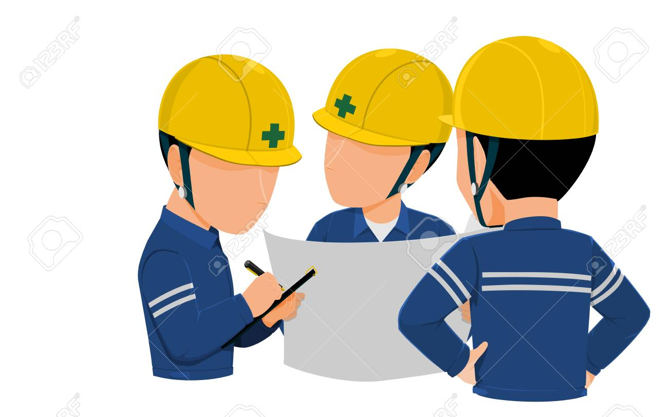 workers are meeting together on transparent background royalty free