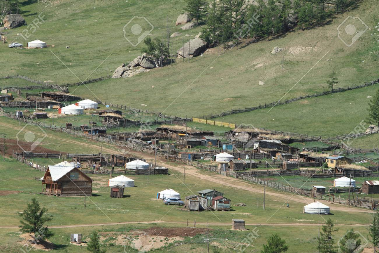 Yurt Village Mongolia Stock Photo Picture And Royalty Free Image Image 24950144 明蕴镇 míngyùn zhèn) is an area in qiongji estuary, liyue, north of yaoguang shoal and east of guili plains. yurt village mongolia