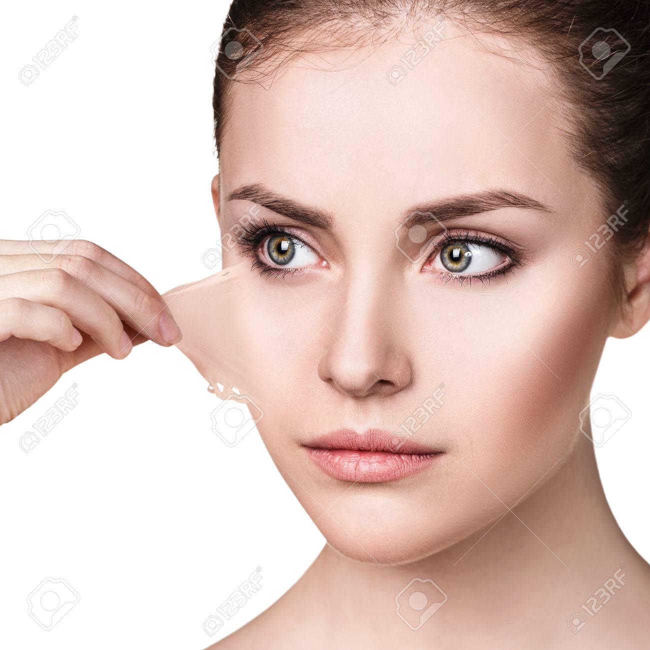 peau seche visage femme