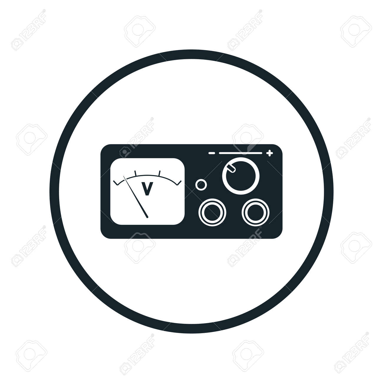 Power Supply Icon Royalty Free Cliparts, Vectors, And Stock ...