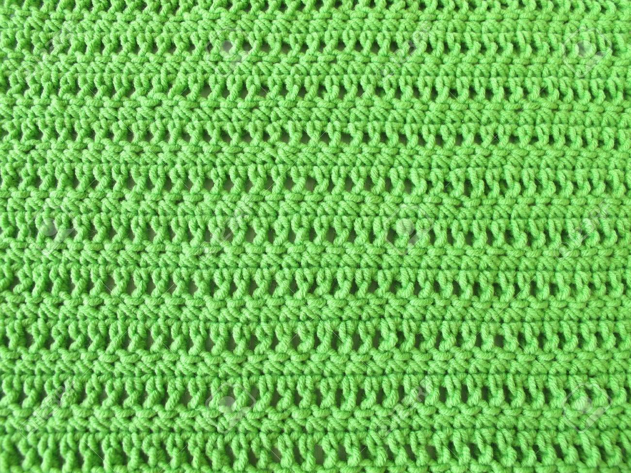 Patrón De Ganchillo De La Puntada Simple Y Doble Crochet En ...