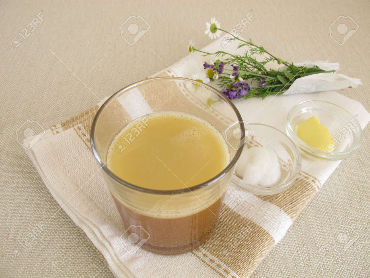 huile de noix le matin