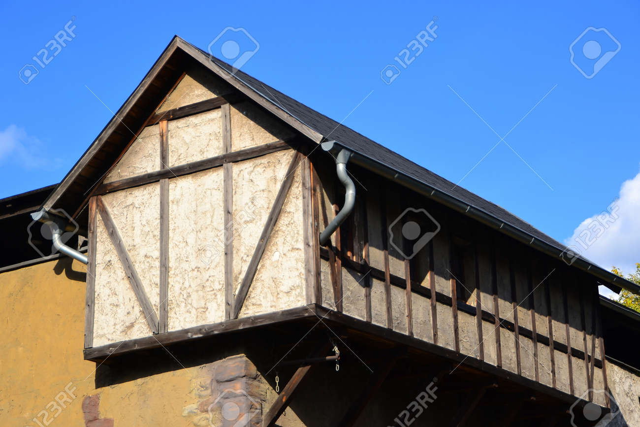 old half-timbered house in Germany Stock Photo - 17742836